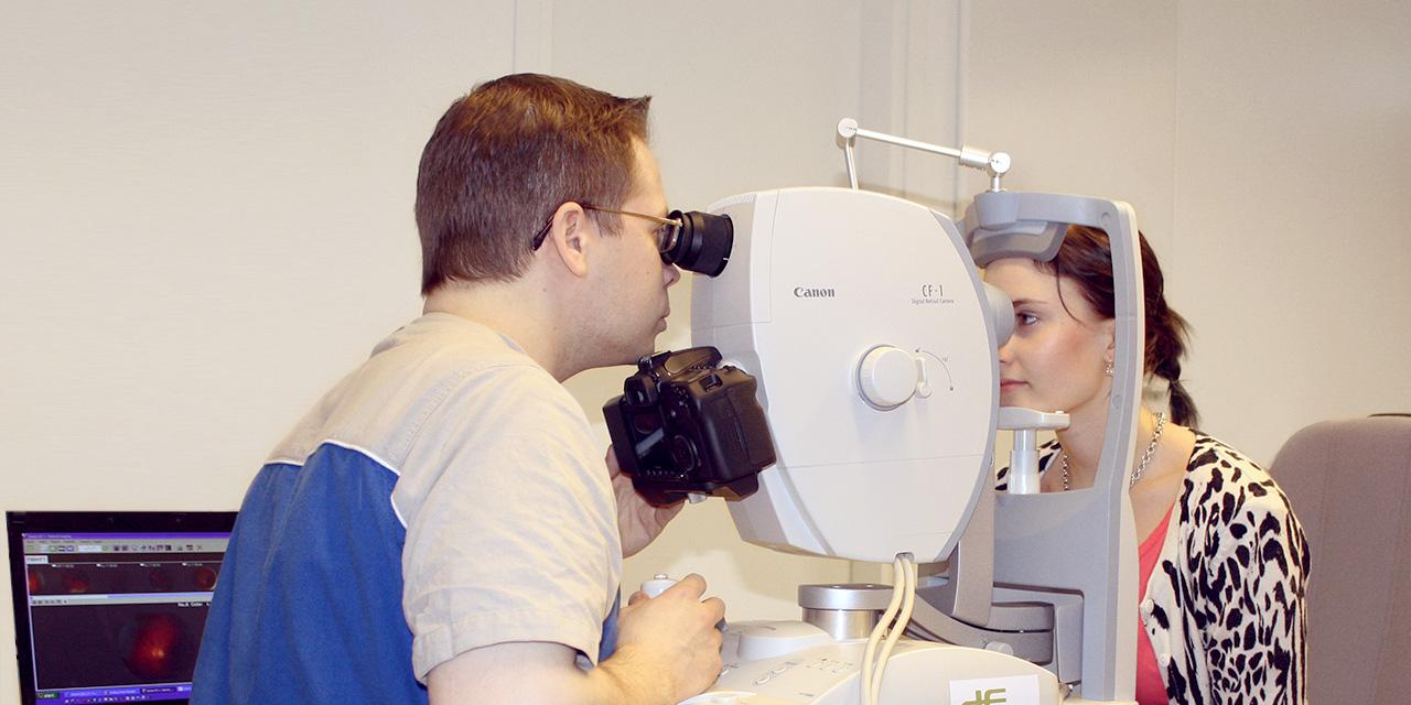 Optikon tutkimusjärjestelmä